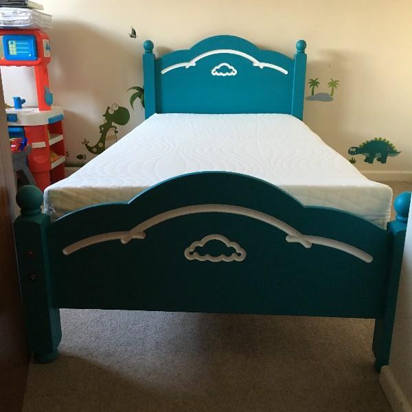 Handpainted Bed (Customer)