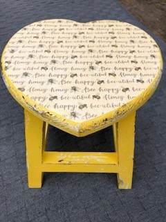 Yellow Bee stool