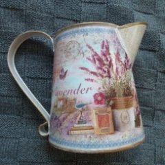 Vintage Lavender Jug