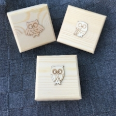 Owl Trinket Boxes