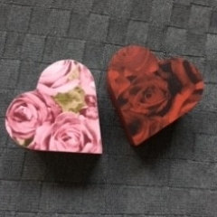 11cm Heart Shaped Boxes