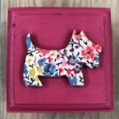 Liberty Print Scottie