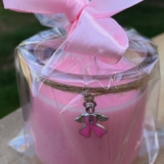 Breast cancer candle