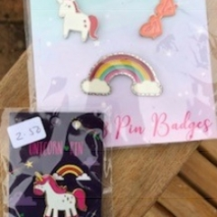 Unicorn pins