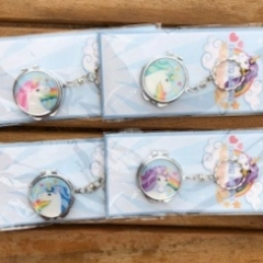 unicorn key rings