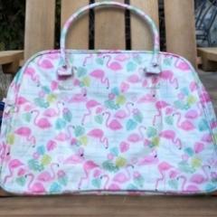Flamingo overnight bag