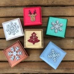 Christmas 6cm boxes