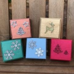 9cm Christmas gift boxes