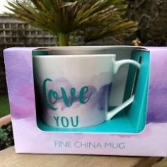 Love You mug exterior