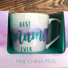 Best Mum Ever china mug