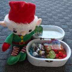 18cm Elf gift box contents